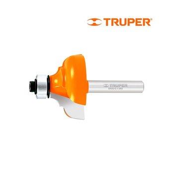 Broca Router Clásica Balero Truper 13/8 x 1 1/16 pulg
