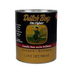 Esmalte Alquídalico Brillante Blanco Dutch Boy Dirt Fighter 1 L