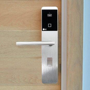 Cerradura Digital Puerta Seguridad Huella y Tarjeta CDI55