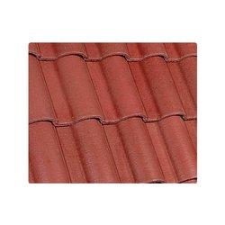 Teja Concreto Mediterráneo 44 x 30 cm Rojo Rubí
