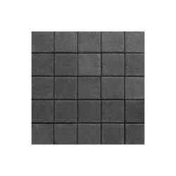 Adoquín Plaza Mextile 15 x 15 x 6 cm Negro