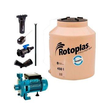 Paquete Tinaco Resistec 1100 L y Filtro Lavable