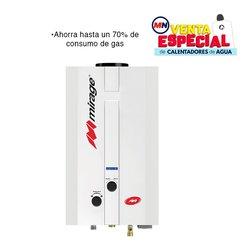 Calentador Paso Instantáneo 6 Lts Mirage Gas LP