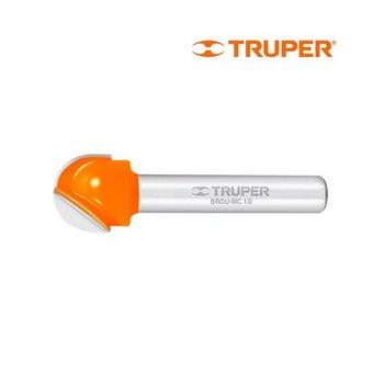Broca Router Media Caña 1/2 pulg Truper