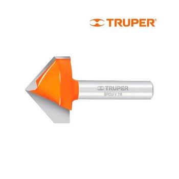 Broca Router Corte V Truper 7/8
