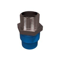 Conector CPVC Azul Rosca Exterior Bronce 25 mm Flowguard Gold