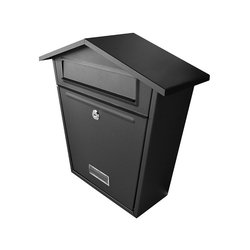 Buzón Handy Home Acero Galvanizado 37 x 36 x 13 cm Negro