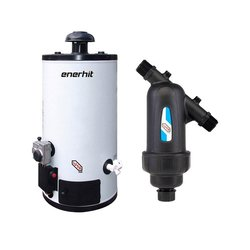 Paquete Calentador Depósito 40L Gas Natural y Kit Instalación