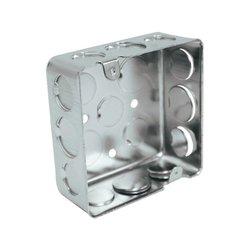 Caja Cuadrada Galvanizada Reforzada 4 x 4 pulg