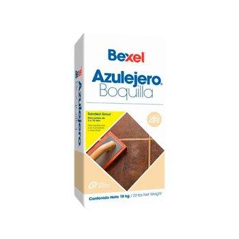Boquilla Arena Azulejero marca Bexel 10 kg Blanco