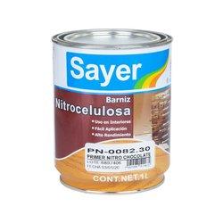 Primer Nitrocelulosa Sayer Chocolate PN008230 1L