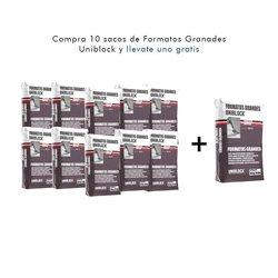 Paquete 10 + 1 Adhesivo Grandes Formatos Uniblock 20 Kg