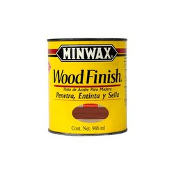 Mancha Aceite Wood Finish Minwax Red Mahogany 1 Lt