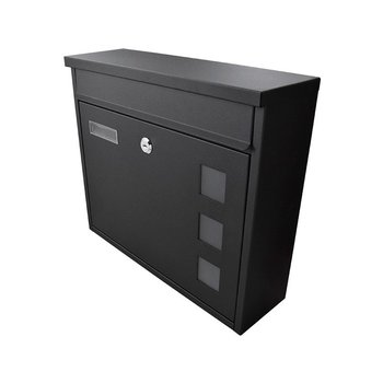 Buzón Handy Home Acero Galvanizado Negro