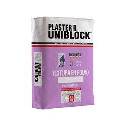 Estuco Plaster R Uniblock Blanco 40 kg