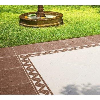 Piso Cantera Daltile 45 x 45 cm Chocolate ZV22