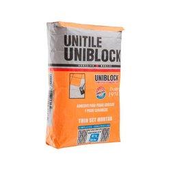 Adhesivo Uniblock Plus Blanco 20 kg