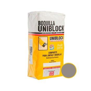 Boquilla con Arena Uniblock 10 kg Gris