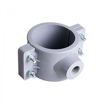 Abrazadera PVC Hidráulica 2 x ¾ pulg