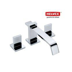 Mezcladora Lavabo Helvex 8 a 12 Pulgadas Contra Push Vertika MP0