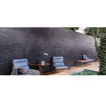 Piso Origin Daltile 60 x 120 cm Black GON1