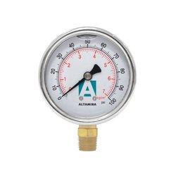 Manómetro Glicerina 0-100 psi ¼ Macho Altamira