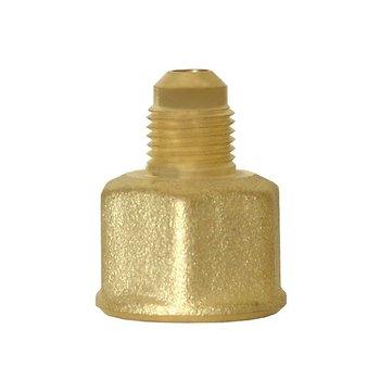 Niple Campana Bronce gas 5/16 x 1/2 pulg