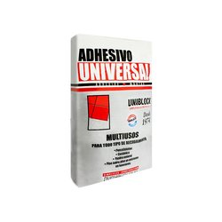 Adhesivo Universal Uniblock Blanco 20 kg