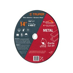 Disco Corte Metal Truper 14 pulg ABT-739