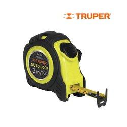 Flexómetro Truper 3 m Contra Impacto Auto Lock