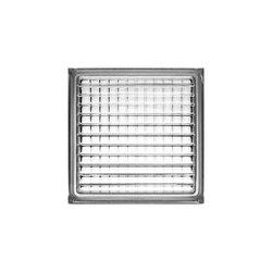 Vidrio Block Cruzado Fontibre 19 x 19 x 8 cm