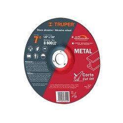 Disco Corte Metal 7 pulg Truper