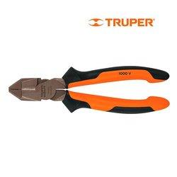 Pinza Electricista Profesional Comfort Grip Truper 7 pulg