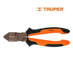 Pinza Electricista Profesional Comfort Grip Truper 7 pulg
