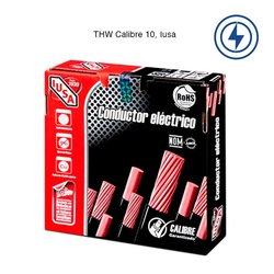 Cable THW Calibre 10 Blanco 100 m