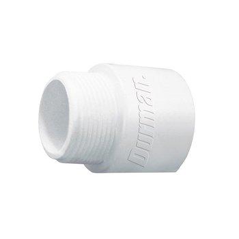 Conector PVC Hidráulico Cedula 40 Rosca Exterior 13 mm ½