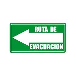 Señalamiento Ruta Evacuación Izquierda