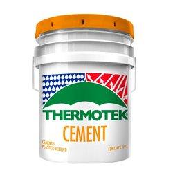 Cemento Acrílico Blanco Thermotek 19 Lt