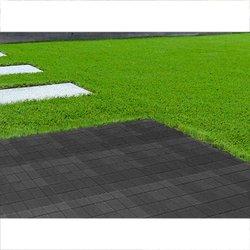 Adoquín Plaza Mextile 20 x 20 x 6 cm Negro