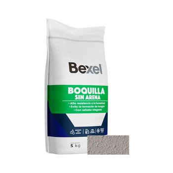 Boquilla sin Arena Azulejero Plata 5 kg