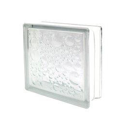 Vidrio Block Burbuja Fontibre 19 x 19 x 8 cm