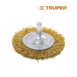 Carda Circular Truper Alambre Grueso 3 pulg