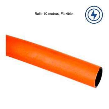Poliducto Naranja Liso 3/4 Rollo 100 m