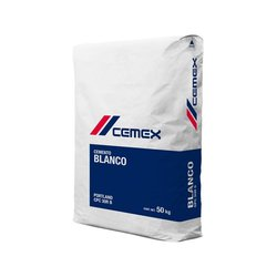 Cemento Cemex Blanco 50 kg