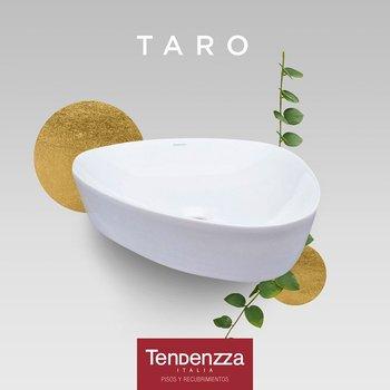Lavabo Taro Tendenzza Blanco