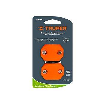 Conector Manguera Reparador Truper Plástico ½ pulg