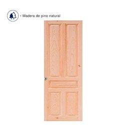 Puerta Pino Rustico 91 x 2.13 m 5 Tab