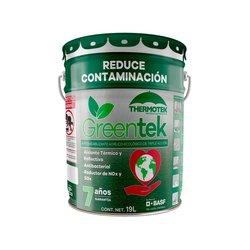 Impermeabilizante Acrílico Greentek Thermotek 7 A Blanco 19 Lt