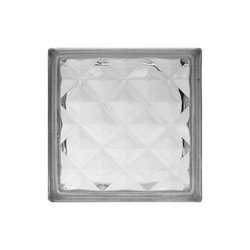Vidrio Block Diamante 19 x 19 x 8 cm