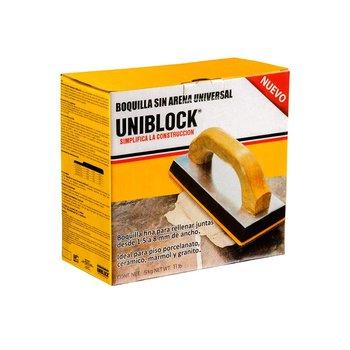 Boquilla Uniblock sin Arena 5 kg Plata